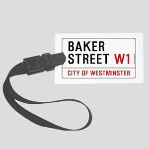 Baker Street W1 Large Luggage Tag