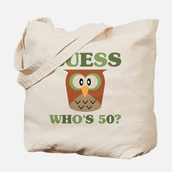 Funny 50th Tote Bag