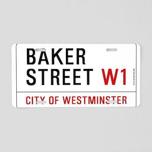 Baker Street W1 Aluminum License Plate