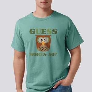 Guess Who's 50 Mens Comfort Colors Shirt