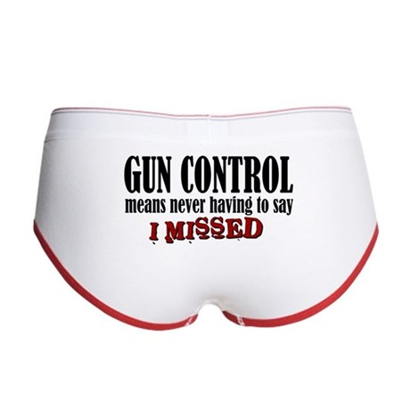 Gun Control Women's Boy Brief