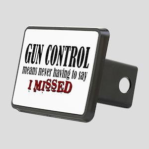Gun Control Rectangular Hitch Cover