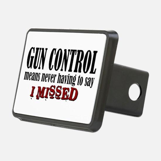 Gun Control Hitch Cover