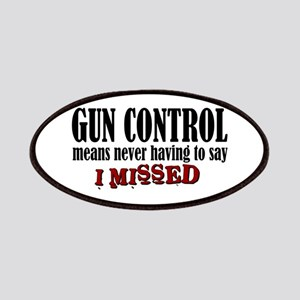 Gun Control Patches