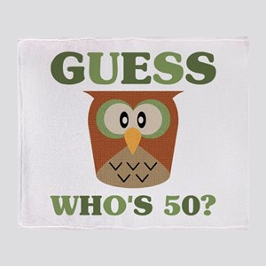 Guess Who's 50 Throw Blanket