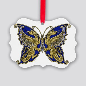 Thracian Butterfly Picture Ornament