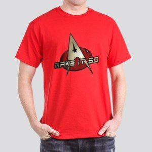 Make It So Star Trek Dark T-Shirt
