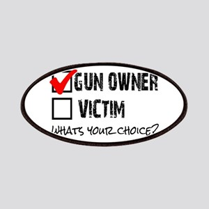 Gun Owner vs Victim Patches