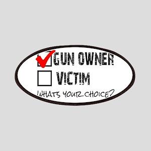 Gun Owner vs Victim Patches