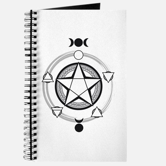 Elemental Pentagram Journal