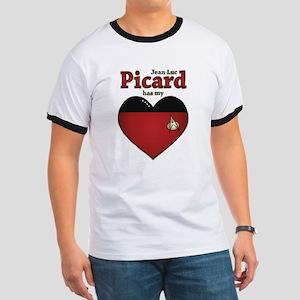 Jean-Luc Picard Heart Ringer T
