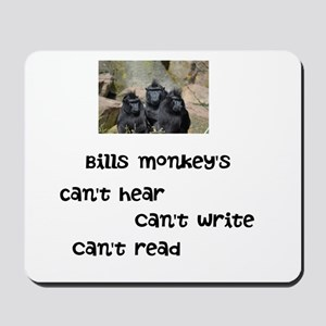 Bills monkeys Mousepad