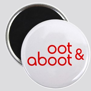 Oot & Aboot (red) Magnet
