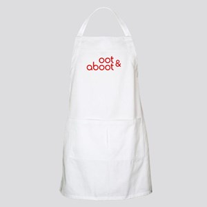 Oot & Aboot (red) Apron