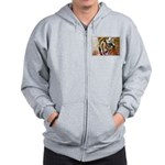 I Survived The 80s!! Zip Hoodie