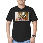 I Survived The 80s!! Men's Fitted T-Shirt (dark)