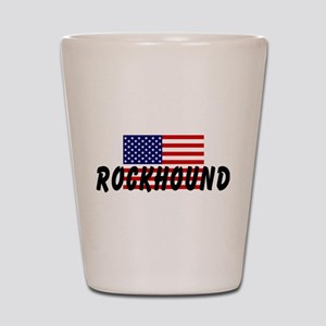 American Rockhound Shot Glass