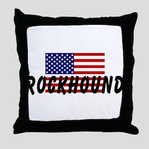 American Rockhound Throw Pillow
