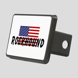American Rockhound Rectangular Hitch Cover