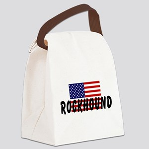 American Rockhound Canvas Lunch Bag