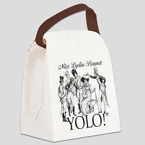 Lydia Bennet YOLO Canvas Lunch Bag