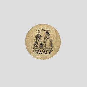 Mr Wickham Swag Mini Button