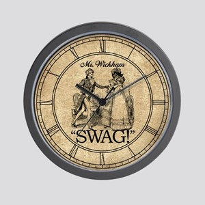 Mr Wickham Swag Wall Clock