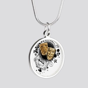 Alchemy of Theatre Production Silver Round Necklac