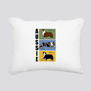 AussieTall Rectangular Canvas Pillow
