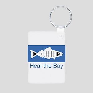 Heal the Bay Aluminum Photo Keychain