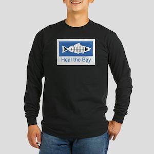 Heal the Bay Long Sleeve Dark T-Shirt