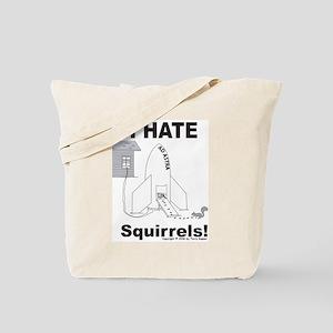 Squirrel Rocket Tote Bag