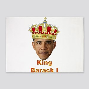 King Barack I v2 5'x7'Area Rug