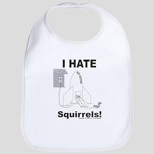 Squirrel Rocket Bib