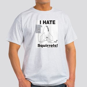 Squirrel Rocket Ash Grey T-Shirt