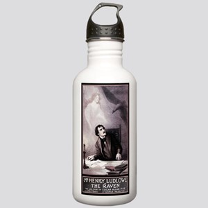 Poe Vintage Raven Stainless Water Bottle 1.0L