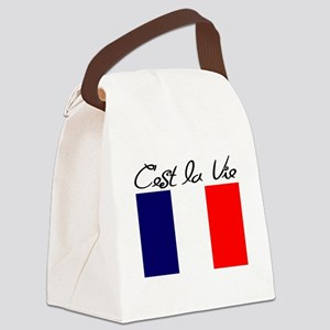 FRENCH Canvas Lunch Bag