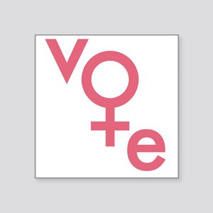 Vote Gender Symbol Sticker