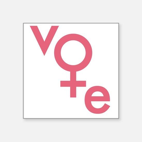 Vote Gender Symbol Sticker