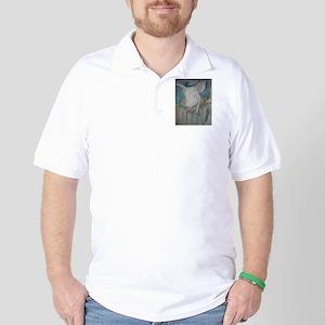 Piglet, animal art! Golf Shirt