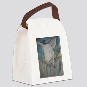 Piglet, animal art! Canvas Lunch Bag