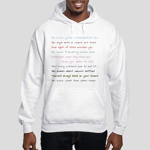 Plebotomy - Order Of Draw Hooded Sweatshirt