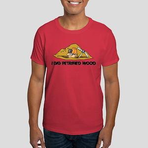 Rockhound I Dig Petrified Wood Dark T-Shirt