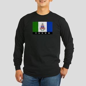 Yukon Flag Long Sleeve Dark T-Shirt