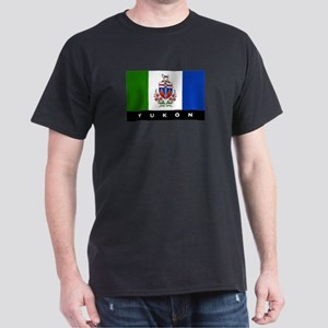 Yukon Flag Dark T-Shirt