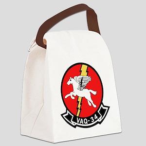 vaq34 Canvas Lunch Bag