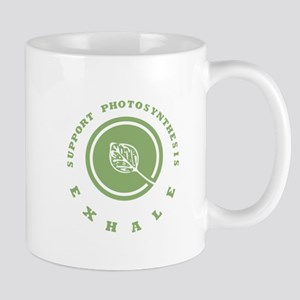 Support Photosynthesis Exhale Logo Mug