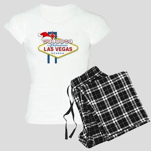 Welcome to Las Vegas Christmas Women's Light Pajam