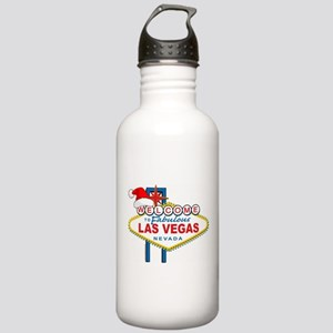 Welcome to Las Vegas Christmas Stainless Water Bot
