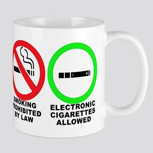 Vaping sticker Mug